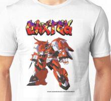 GRAFFITI ROBOT ANIME WHITE T SHIRT Unisex T-Shirt