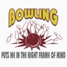 Funny Bowling T-Shirt by SportsT-Shirts