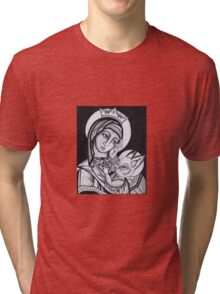 Miss Mary quite contrary.. Tri-blend T-Shirt
