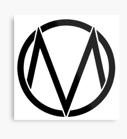 The maine - Band logo Metal Print