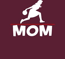 Bowling Mom T-Shirt Womens Fitted T-Shirt