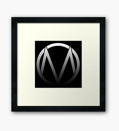 The Maine - Band  Logo Fade Framed Print
