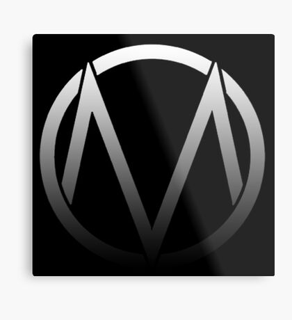 The Maine - Band  Logo Fade Metal Print