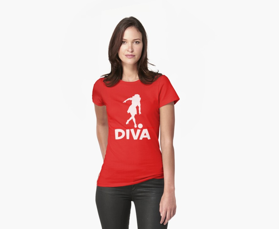 Bowling Diva T-Shirt by SportsT-Shirts