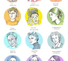 Literary Heroines by EmCuthbert