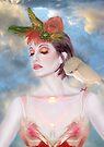 The Avian Dream - Self Portrait by Jaeda DeWalt