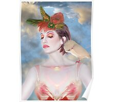 The Avian Dream - Self Portrait Poster