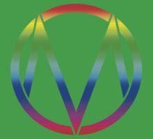 The Maine - Band  Logo Rainbow Kids Clothes
