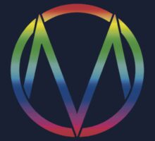 The Maine - Band  Logo Rainbow Kids Clothes