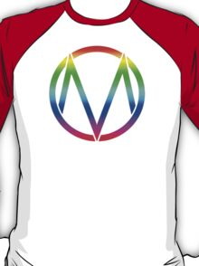 The Maine - Band  Logo Rainbow T-Shirt