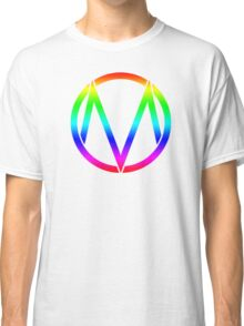 The Maine - Band  Logo Rainbow Classic T-Shirt