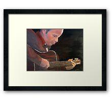 """The Guitarist"" Framed Print"