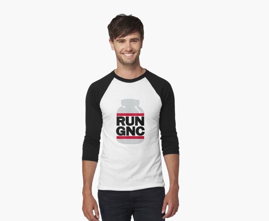 RUN GNC on White by popnerd