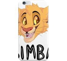 Simba- With Name iPhone Case/Skin