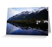 Mirror Lakes 1 Greeting Card