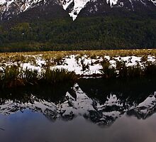 Mirror Lakes 2 by Adam Northam