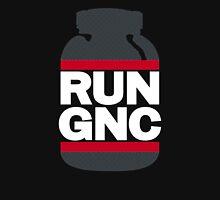 RUN GNC on Black T-Shirt