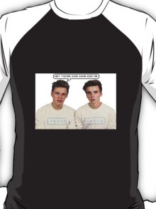 Joe Sugg Caspar Lee  You're Cute T-Shirt