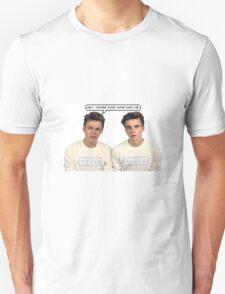 Joe Sugg Caspar Lee  You're Cute T-Shirt