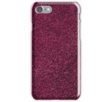 Purple suede iPhone Case/Skin