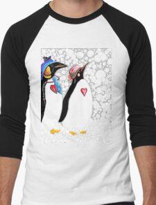 Cold Feet Warm Heart Men's Baseball ¾ T-Shirt