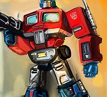 G1 OPTIMUS PRIME by EpicGorilla