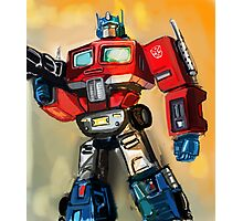 G1 OPTIMUS PRIME Photographic Print