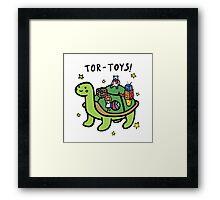 Tor-Toys Framed Print