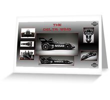 The Nissan Delta Wing Greeting Card
