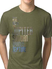 Planets Tri-blend T-Shirt