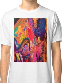 A Portrait of Color and Texture Classic T-Shirt