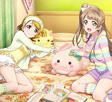 Love Live! School Idol Project - μ's Pajama Party by star-sighs