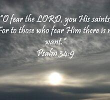"""""""Psalm 34:9""""  by Carter L. Shepard by echoesofheaven"""