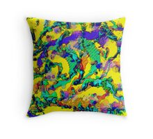 Alien DNA Throw Pillow