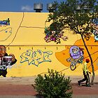 Public Wall Art & Graffiti by Carole-Anne