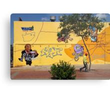 Public Wall Art & Graffiti Metal Print