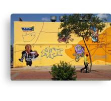 Public Wall Art & Graffiti Canvas Print