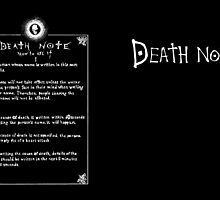 Ryuk's Death Note by PonchTheOwl