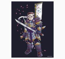 Greatest American Samurai- Sticker Version by pagebranson