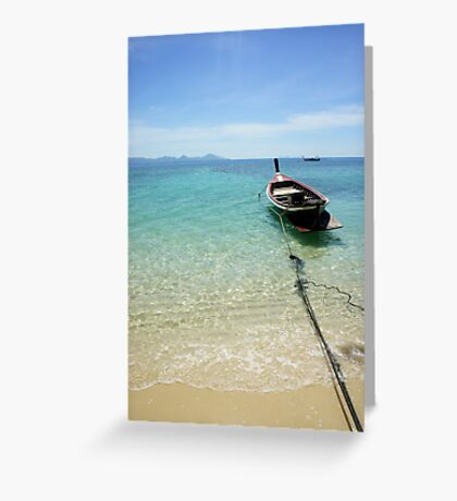 Island Paradise... Greeting Card