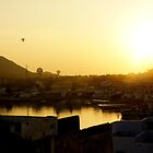 Balloons over Pushkar by PerkyBeans