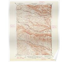 USGS Topo Map Washington State WA Boylston 240197 1943 62500 Poster