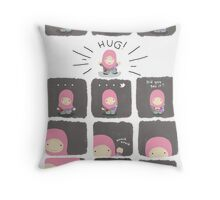 Eid Hug Throw Pillow