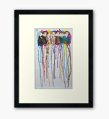 Doctor Sequence Framed Print