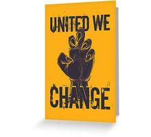 Werewolves: United We Change Greeting Card
