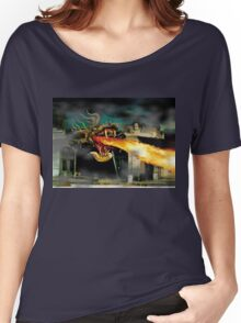 Small Town Dragon Women's Relaxed Fit T-Shirt