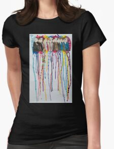 Doctor Sequence Womens Fitted T-Shirt