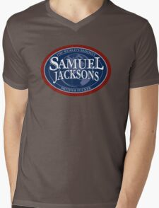 SamueL Jacksons Mens V-Neck T-Shirt