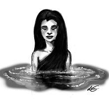 Lady in the Water by AlexArtShop