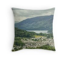 Keswick, The Lake District Throw Pillow